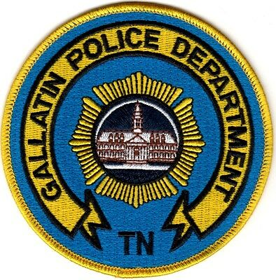 Gallatin Police Department Police Patch Tennessee TN NEW!!