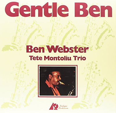 `Ben Webster - Gentle Ben [2LP] (200 Gram 45RPM Audiop (US IMPORT)  VINYL LP NEW