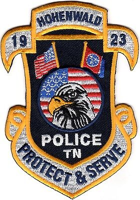 Hohenwald Police Patch Tennessee TN NEW!!