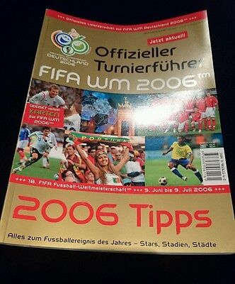2006 world cup official magazine Germany italy france england brazil