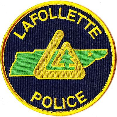 Lafollette Police Patch Tennessee TN NEW!!