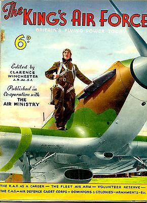 RAF WW2 THE KINGS AIR FORCE book 64 pages