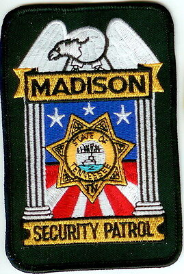 Madison Security Patrol Police Patch Tennessee TN NEW!!