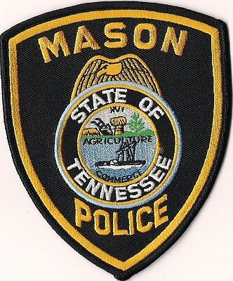 Mason Police Patch Tennessee TN NEW!!