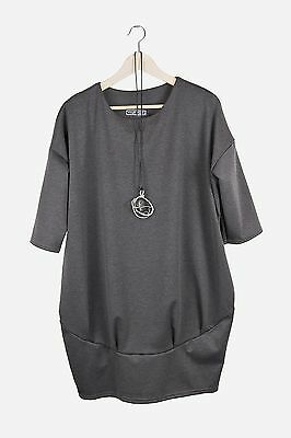 NEW Oversized Loose Cocoon Plus Tunic/Dress one size 12/14