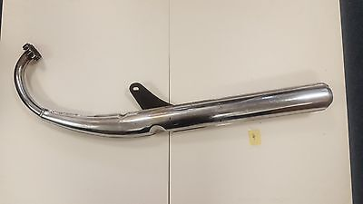 Used Left hand side with bracket Suzuki GT125 motorcycle Exhaust pipe
