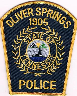 Oliver Springs  Police Patch Tennessee TN NEW!!