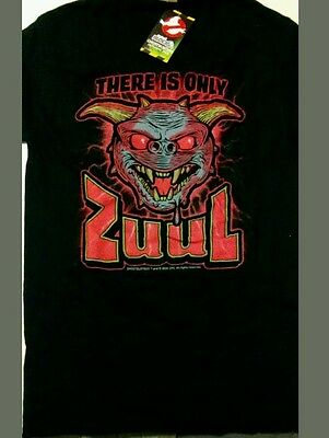 "Nerd Block Exclusive Ghostbusters ""There Is Only Zuul"" Black Shirt Women's Large"