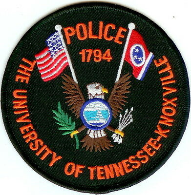 The University of Tennessee-Knoxville  Police Patch Tennessee TN NEW!!
