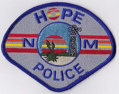 Hope Police Patch New Mexico NM NEW!!