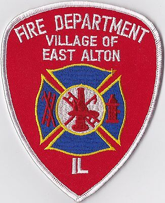 Village of East Alton Fire Department Illinois patch NEW