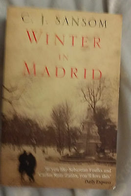 Winter in Madrid C.J.Sansom