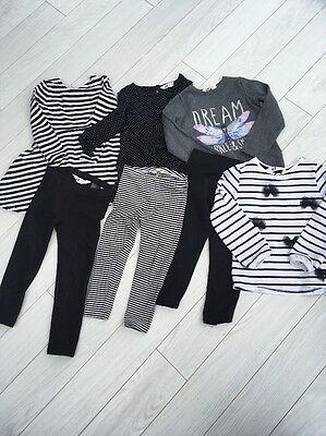 Girls Clothing Bundle Age 2-4 Years; H&M And Next ; 7 Items!