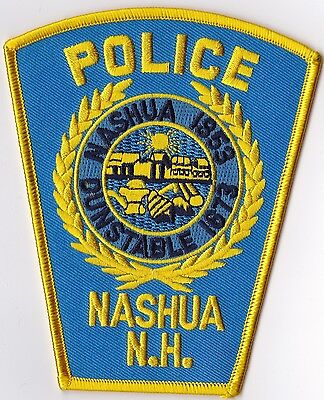 Nashua Police  New Hampshire NH patch NEW!!