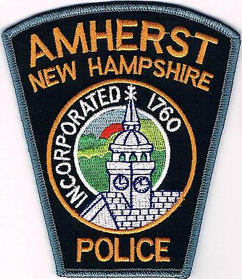 Amherst Police  New Hampshire NH patch NEW!!