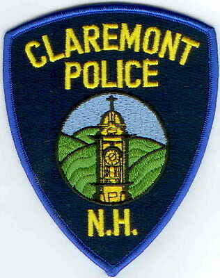 Claremont Police New Hampshire NH patch NEW!!