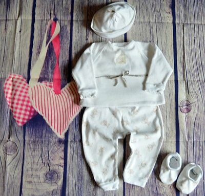Burberry Baby Boy Girl Designer Clothes Bundle 6-12 Month Hat Outfit Booties VGC