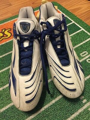 Terence Newman 41 Dallas Cowboys Game Used Worn Reebok Cleats Bengals Vikings
