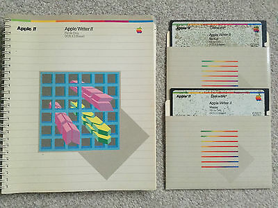 Apple Writer II (Manual and Disks)