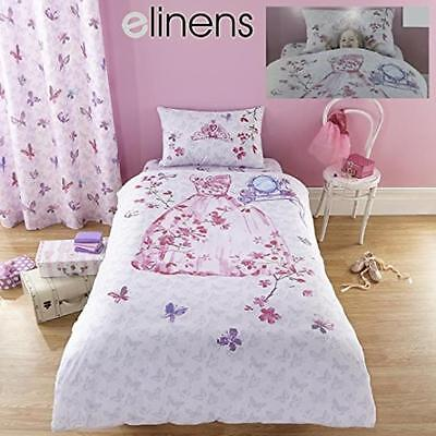 NEW Catherine Lansfield Glamour Princess Single Fitted Sheet