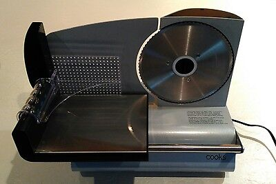 Cook's Electric Stainless Steel Meat Slicer #22149 FS-9001A 150 Watt