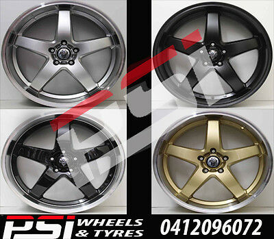 "1x 20"" INCH HRS R1 WHEEL RIM DEEP DISH HOLDEN COMMODORE VF VE HSV REDLINE SS SSV"