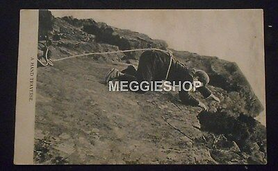 Cumberland: Scafell Pike: Scawfell - A Hand Traverse - Old Postcard