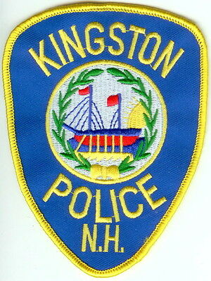 Kingston Police  New Hampshire NH patch NEW!!