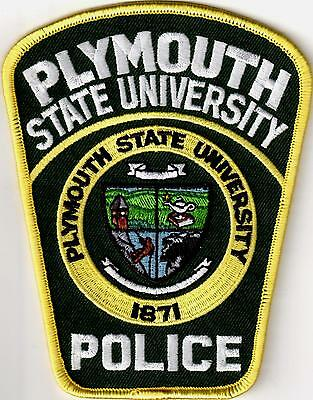 Plymouth State University Police New Hampshire NH  patch NEW