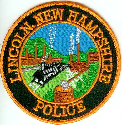 Lincoln Police New Hampshire NH patch NEW!!