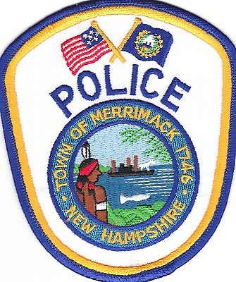Town of Merrimack Police New Hampshire  patch NEW