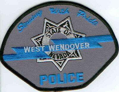 West Wendover Police NV Nevada  NEW