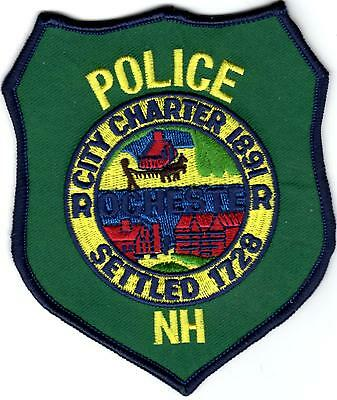 Rochester City Charter Police New Hampshire  patch NEW