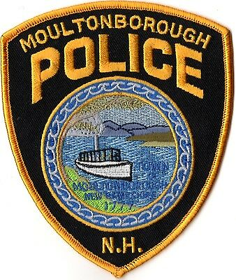 Moultonborough Police New Hampshire NH patch NEW!!