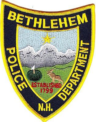 Bethlehem Police Department New Hampshire NH patch NEW!!