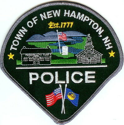 New Hampton Police New Hampshire  patch NEW