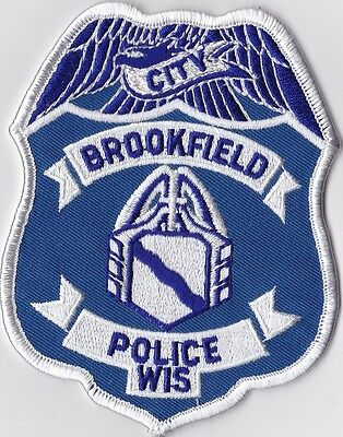 Brookfield Police Patch Wisconsin WI NEW !!!
