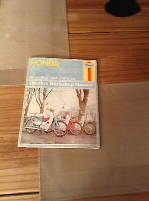 honda c50 c70 c90 workshop manual cub