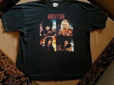 2004 Motley Crue Promo T Shirt 2Xl Shout At The Devil