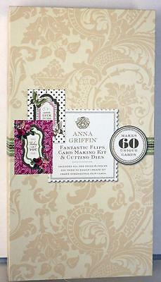 Anna Griffin Fantastic Flips Cardmaking Kit With Cutting Dies Makes 60 A4 Cards!