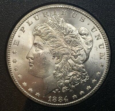 1884 CC Silver Morgan Dollar Coins Uncirculated Carson City Mint