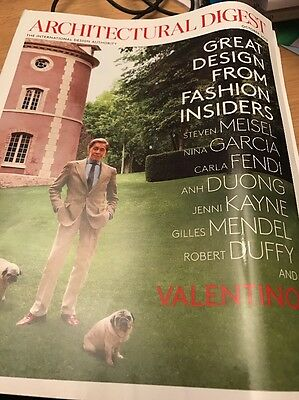 Architectural Digest October 2012