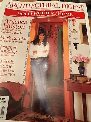 Architectural Digest October 2005