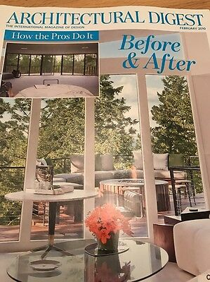 Architectural Digest February 2010