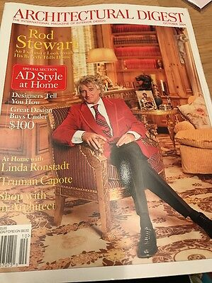 Architectural Digest October 2004