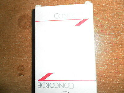 British Airways Concorde playing cards.(unopened)