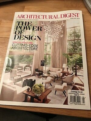 Architectural Digest February 2013