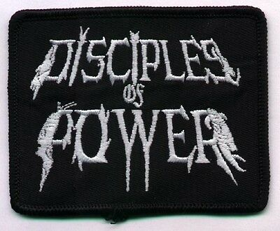 Disciples Of Power- Logo Embroidered Patch