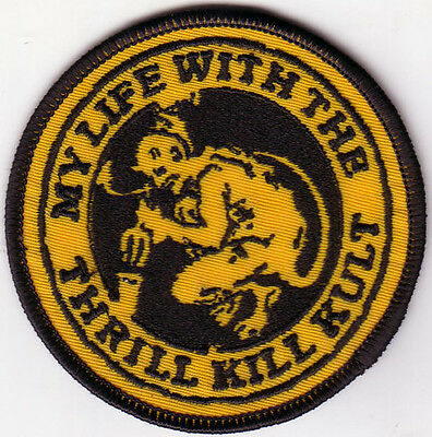 My Life With The Thrill Kill Kult- Gargoyle Embroidered Patch