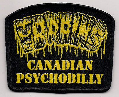 The Brains- Canadian Psychobilly Patch